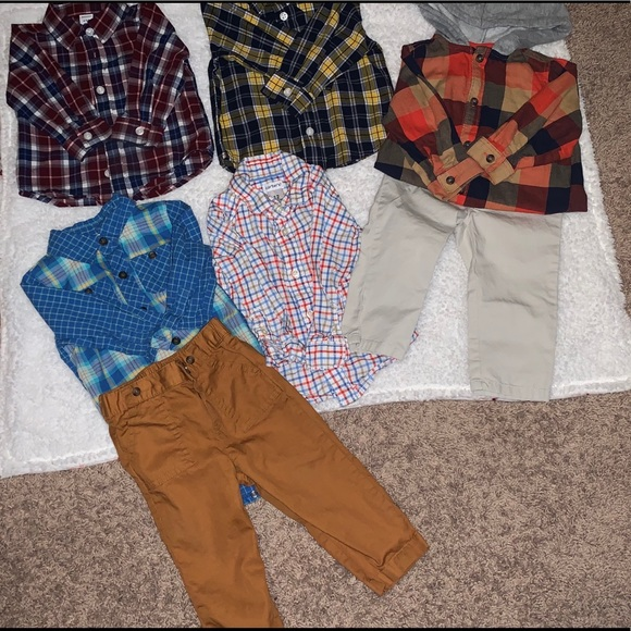 Old Navy Other - CUTEST BABY BOY CLOTHING LOT EVER 6-12 ✨12✨12-18